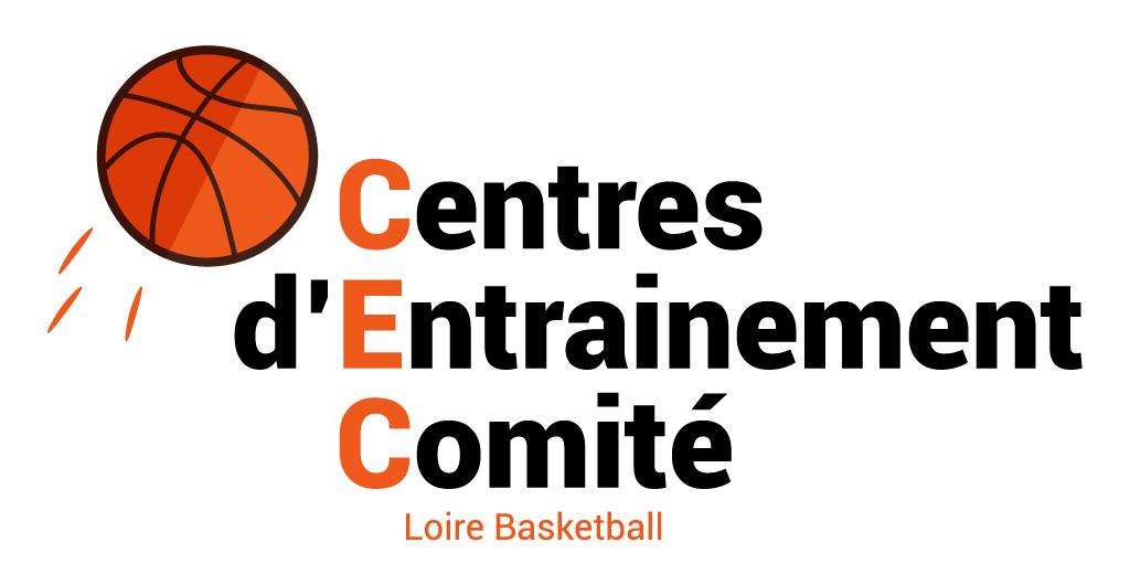 Logo des Centres d'Entrainement du Comité Départemental Loire Basketball