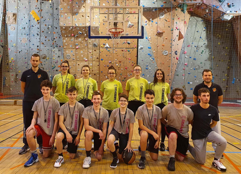 Section Sportive Scolaire Basket De La Cité Jacob Holtzer De Firminy En 2019
