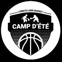 Logo en noir et blanc du Camp d'été