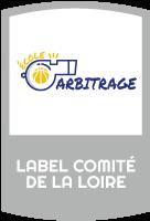 """Label """"école d'arbitrage"""" du Comité départemental de la Loire de basket-ball"""